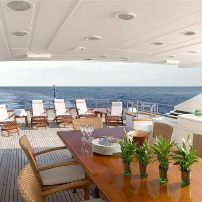 Let It Be Yacht Upper Deck