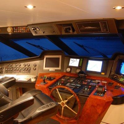 Crocus Yacht Pilothouse