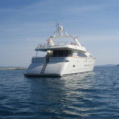 Happy Spirit Yacht Stern