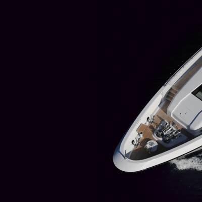 Harle Yacht Bow - Aerial View
