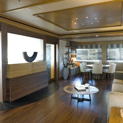 Neom Yacht Master Saloon
