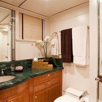 Genevieve Yacht VIP Bathroom