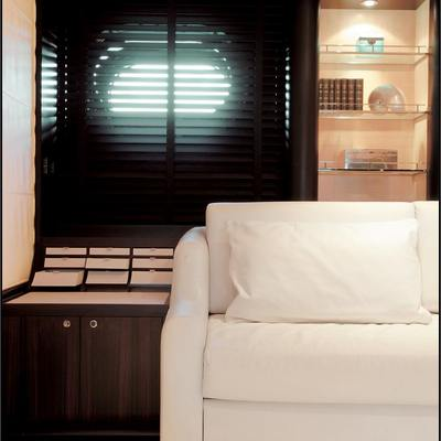 Parsifal III Yacht Stateroom - Detail