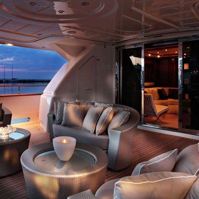 Libertas Yacht Aft Deck