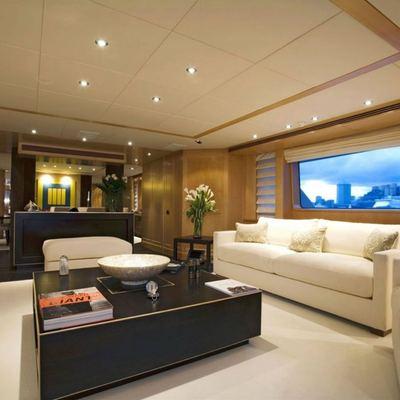 Deep Blue II Yacht Main Salon