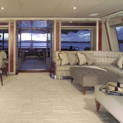 Silver Dream Yacht Skylounge - Side View