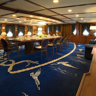 Seagull II Yacht Dining Salon - Overview