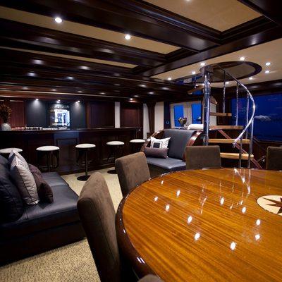 Liquidity Yacht Salon Dining