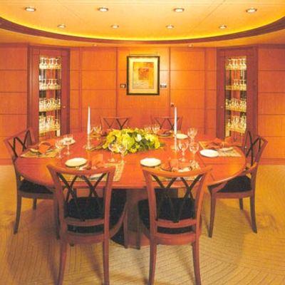 Herculina Yacht Dining Salon