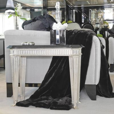 Silver Angel Yacht Detail - Side Table