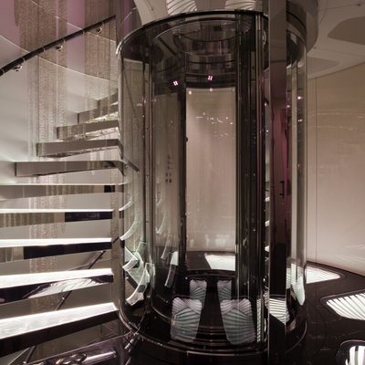 Quite Essential Yacht Elevator & Staircase