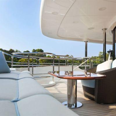 Harmony III Yacht Sunpads