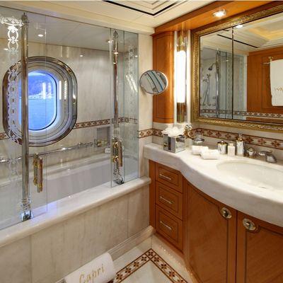 Capri I Yacht Third Guest Bathroom