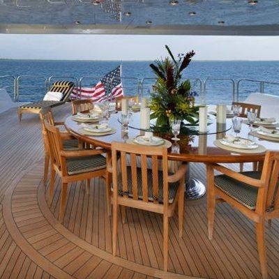 Top Five Yacht Exterior Dining