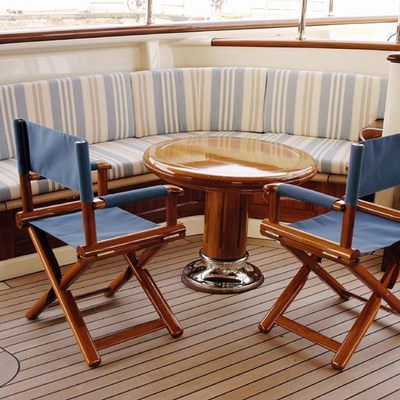 Athena Yacht Sundeck - Table & Chairs