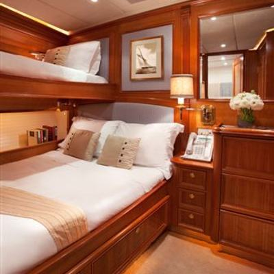 Genevieve Yacht Guest Stateroom