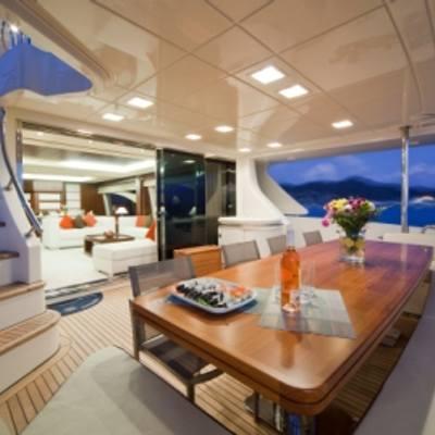 Andreika Yacht Al Fresco Dining