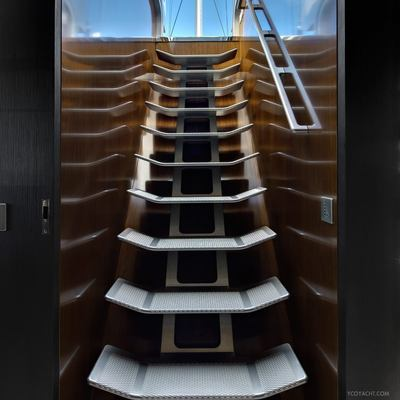 Vertigo Yacht Stairway
