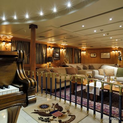Christina O Yacht The Show Room with Piano