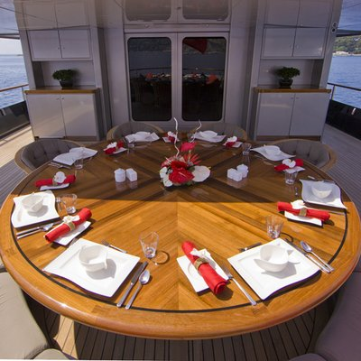 Silver Dream Yacht Main Deck Dining