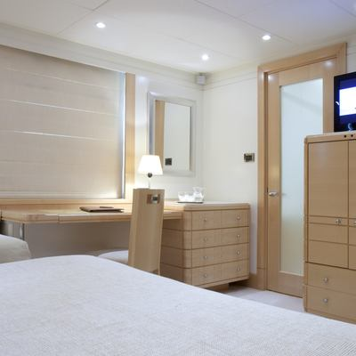La Tania Yacht Guest Stateroom