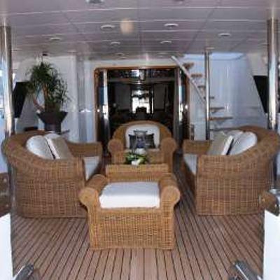 Costa Magna Yacht Exterior Seating