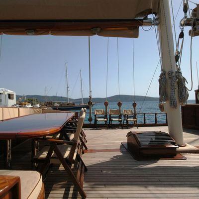Gem Yacht Exterior Seating