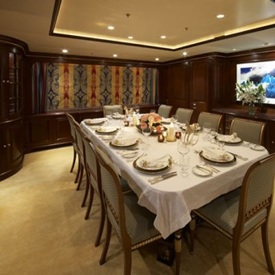 Teleost Yacht Dining Salon