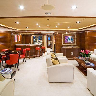 Latitude Yacht Upper Salon - Aft