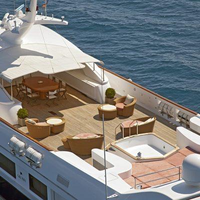 Sophie Blue Yacht Top Deck View
