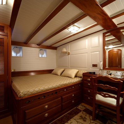 Elena Yacht Guest Stateroom & Seating