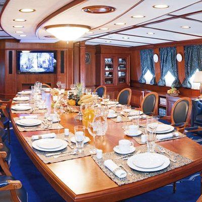 Seagull II Yacht Dining Salon