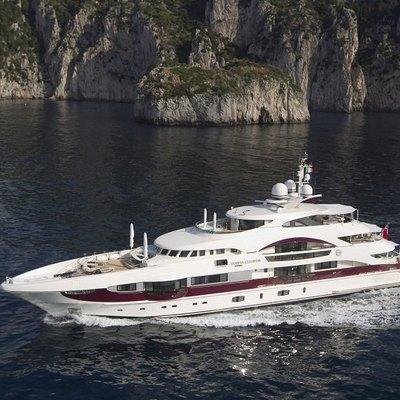 Quite Essential Yacht Running Shot - Profile