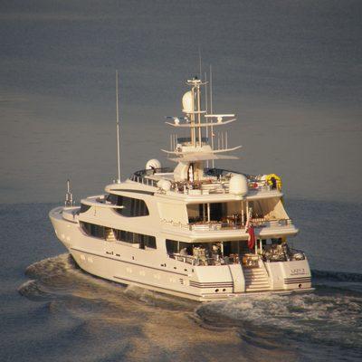 Lazy Z Yacht Aft View