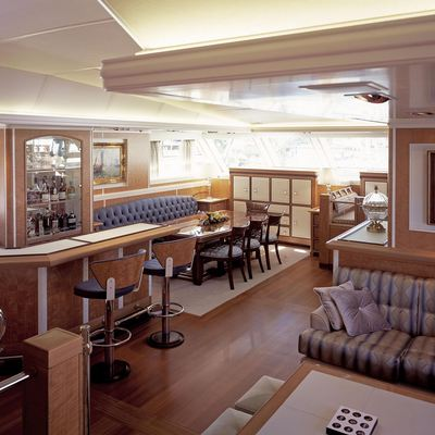 MITseaAH Yacht Main Salon & Bar