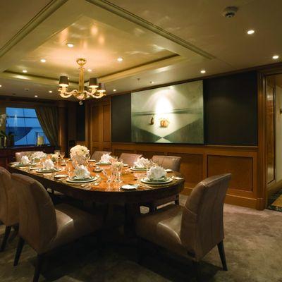 Utopia Yacht Formal Dining