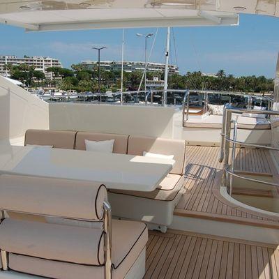 Antelope III Yacht Sundeck