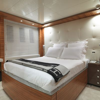 Sierra Romeo Yacht Guest Stateroom Aft