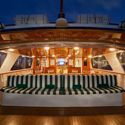 Big Eagle Aft Deck - Night