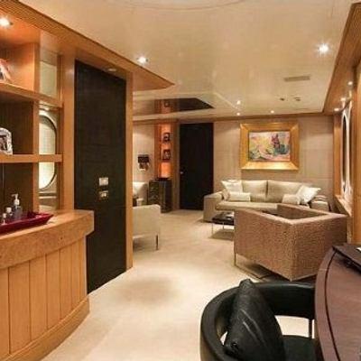 Mercury Yacht Interior Bar