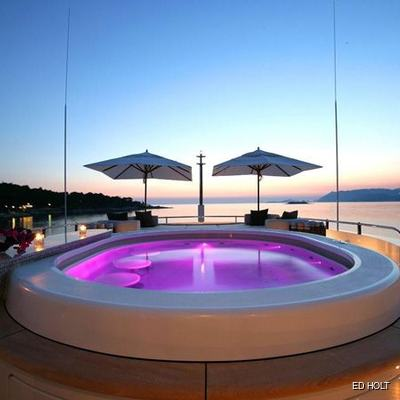Andreas L Yacht Jacuzzi - Sunset
