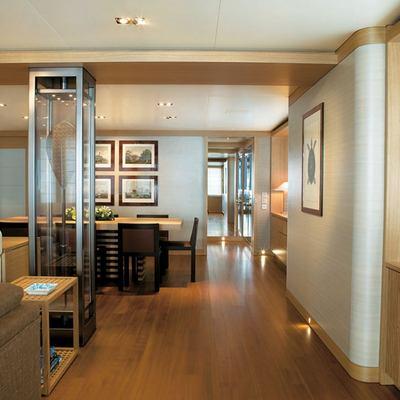 Exuma Yacht Main Salon