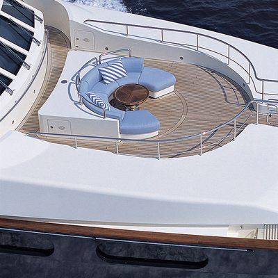 Jo Yacht Aerial - Circular Seating