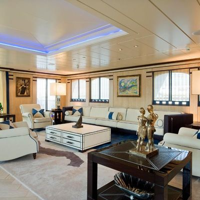 Force Blue Yacht Upper Salon Aft