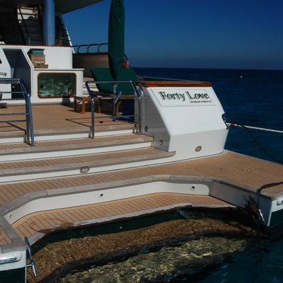 Forty Love Yacht Swim Platform