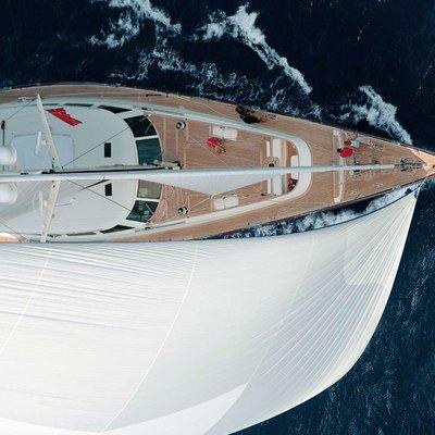 Heritage Yacht Overhead View