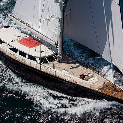 Heritage Yacht Aerial View