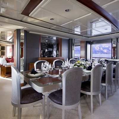 Silver Dream Yacht Dining Salon