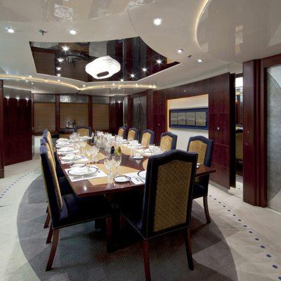 Sarah Yacht Dining room