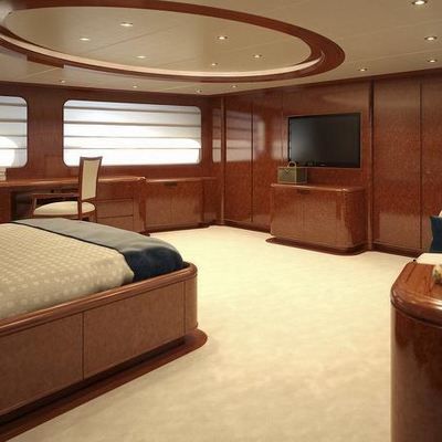 Baron Trenck Yacht Master Stateroom